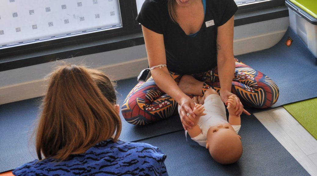 yoga bébé avec yogali